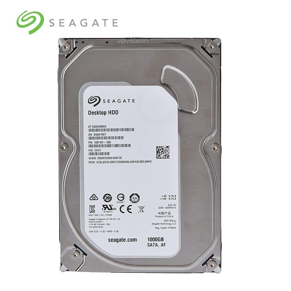 Internal ST1000DM003 Seagate Desktop HDD Hard Drive