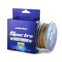 SOLOPLAY 300YDS Super Strong 8 Strands Weaves PE Braided Multi Color Multifilament 20lb 100lb Sea Carp Softwater Fishing Line