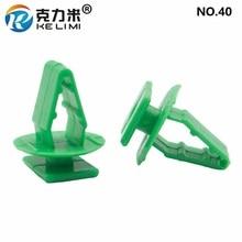 KE LI MI NO.40 For Honda Green guard plate Retainer Door Panel Trim Snap Fastener Clips