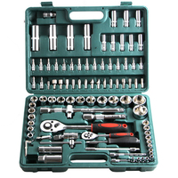 94PCS Sockets Wrench Screwdriver Hand Tools Kit For Household and Business Auto Repair Set
