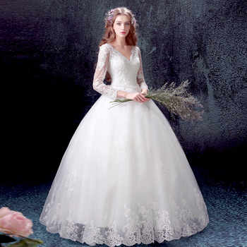 LPTUTTI Lace New Sexy Vintage Princess Bridal Marriage Gown Boho Bride Simple Party Long Events Luxury Wedding Dresses