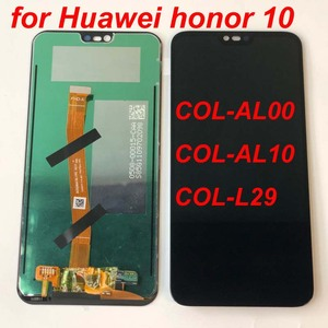 Image 3 - 100% اختبار 5.84 ل هواوي honor 10 honor 10 COL L29 كامل شاشة الكريستال السائل + محول الأرقام بشاشة تعمل بلمس قطع تجميع الأصلي LCD bkl l04