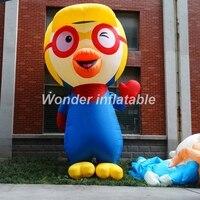 Новый дизайн Дети favourate 3 м гигантские надувные Пингвин мультфильм модель для событий украшения