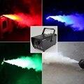 New 400W RGB LED Color Remote Control Smoke Machine Stage Lights Smoke Effect