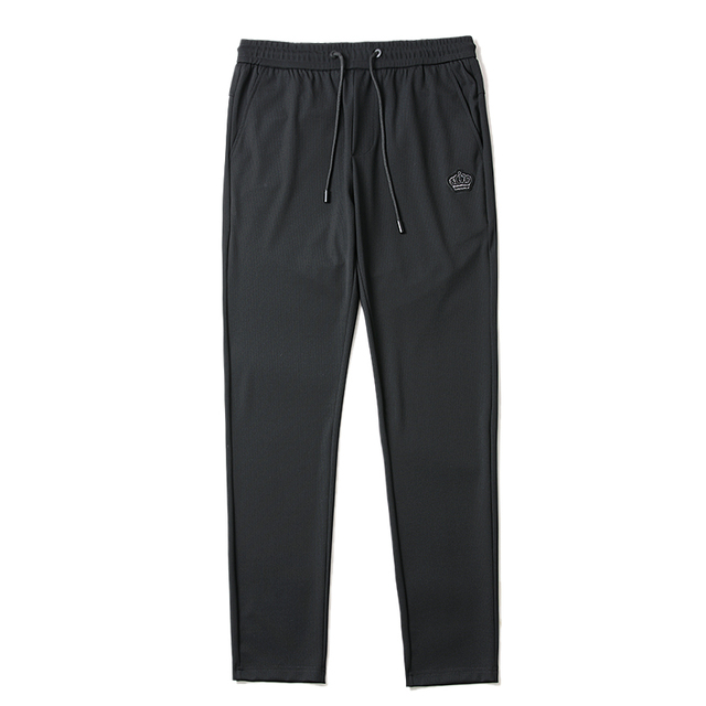 Free shipping Summer Men's  fashion casual Pants , Comfortable  Men's thin elastic trousers,black color ,size 29-40 36