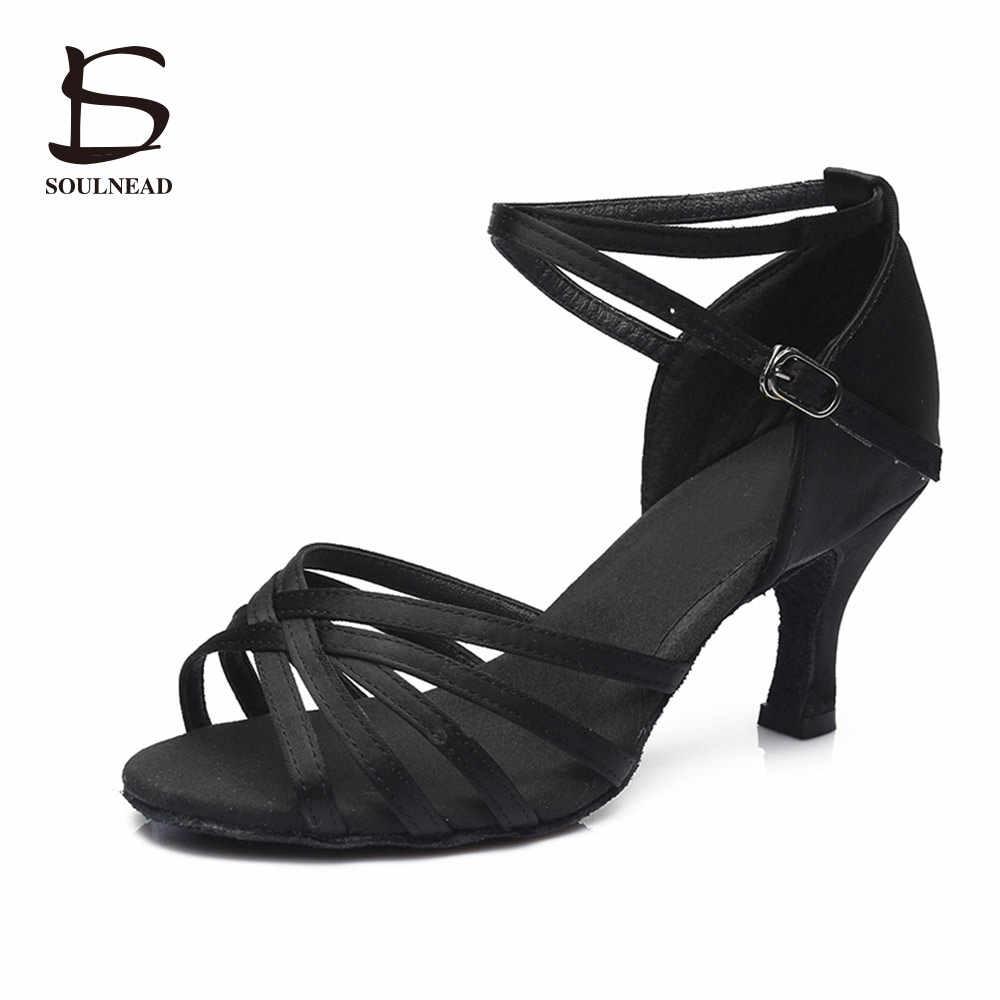 c07a1c8f109 ... Latina Salsa zapatos de baile para las mujeres las niñas Tango salón de  baile zapatos de ...