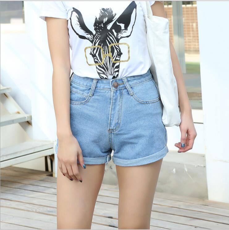 Aliexpress.com : Buy Summer Women High Waist Jeans Shorts Loose ...