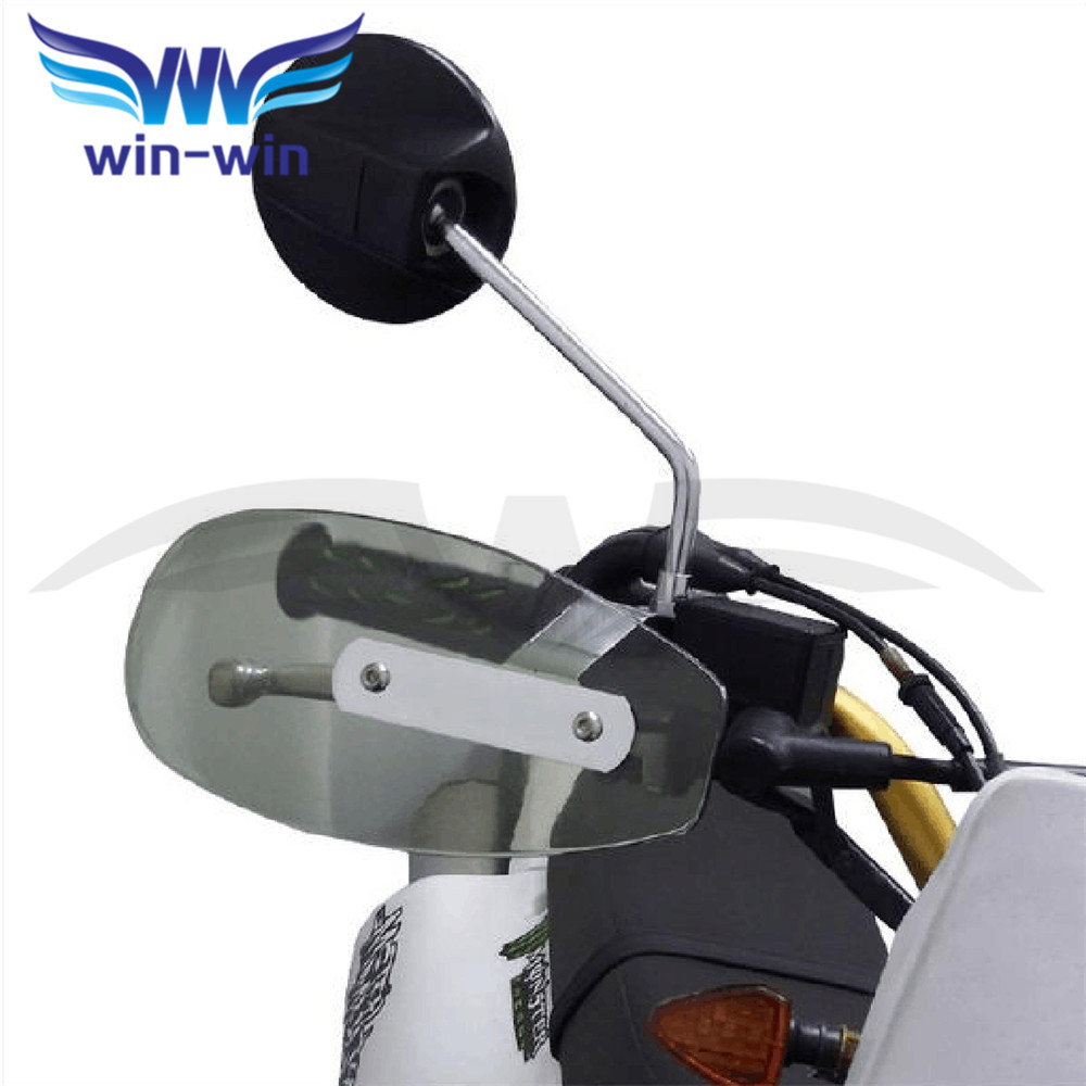 NEW motorcycle wind shield handle hand guard ABS motocross Accessories transparent handguards  FOR BMW R1200gs R1200GS 12-13 motorcycle accessories wind shield handle hand guards plastic motocross transparent handguards for honda big sheep fjs400 fjs600