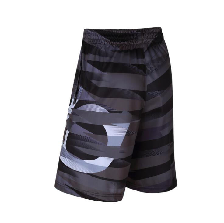 SYNSLOVEN design wave print training basketball running KD summer sport shorts loose half length plus size with double pocket