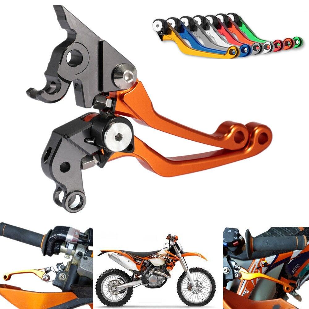 CNC Pivot Freio da bicicleta da Sujeira Da Embreagem Alavancas Para KTM 125 EXC 65SX 125SX 200EXC 250EXC 400EXC-R 400XC-W 450EXC 450X-SX 505SX-F 525EXC