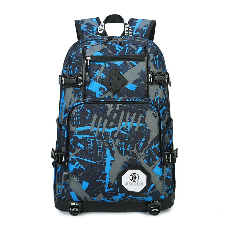 Fashion Camouflage Laptop Backpack Men Women More Colors Large Capacity Travel Carrier Student School Bags for Teenagers zelda laptop backpack bags cosplay link hyrule anime casual backpack teenagers men women s student school bags travel bag