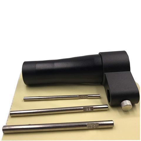 para 17722 25 calibre escopo boresight com 3 bore arbors