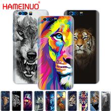 HAMEINUO Cover For Huawei Honor 9 and for Honor 9 lite lion tiger wolf animal print fashion Pattern худи print bar for honor