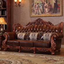 Top selling factory offer leather sofa set 3 2 1 seat Classsic hot sale item