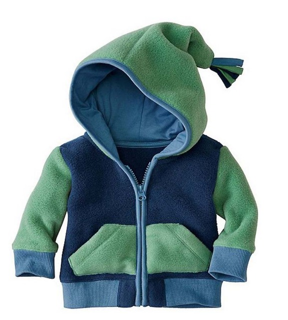 2017 kids baby boy girl clothes , bebes baby Jacket coat HOODED clothing 2 colors .The newborn wear