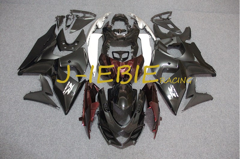 Black red silver Injection Fairing Body Work Frame Kit for SUZUKI GSXR 1000 GSXR1000 K9 2009 2010 2011 2012 2013 2014 2015