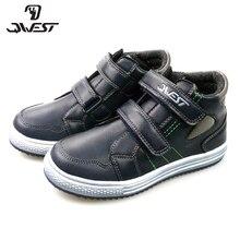 QWEST (by FLAMINGO) весенне-осенние ботинки, детская обувь высокого качества, детская обувь с застежкой-липучкой для маленьких мальчиков, 82B-SW-0890