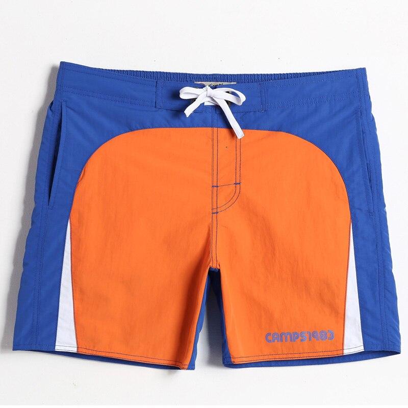 New Style S18 Men Solid   Shorts   Summer   Shorts   Men Hot Beach   Shorts   Men   Board     Shorts   With Rubby Print