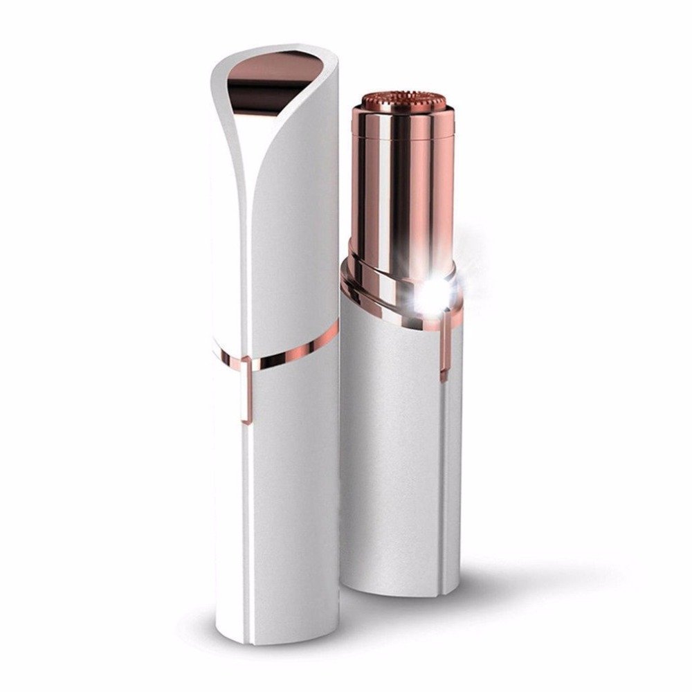 Mini Electric Body Facial Hair Remover Razor Depilator Defeatherer Fashion Removal Body Face Neck Leg Hair Removal