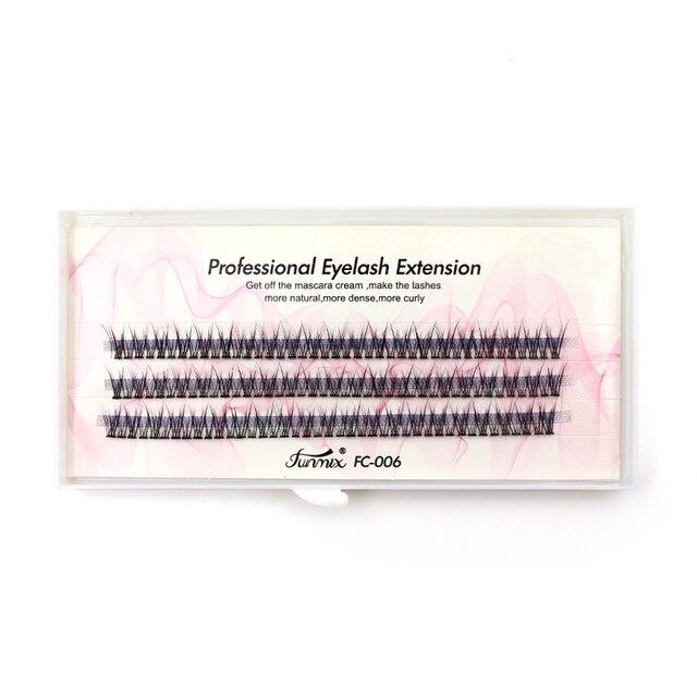 Professional silk eyelashes extension Fashion dovetail fly eyelash false eye lashes 5