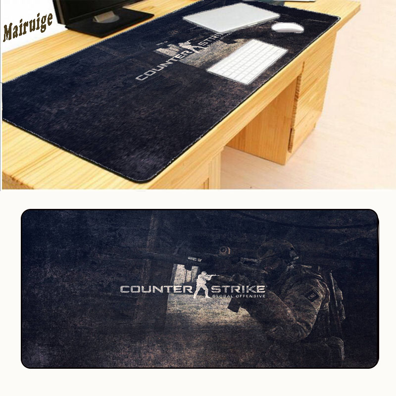 Mairuige Free Shipping 30X60 /70/80 Mouse Pad Pad for Mouse Notbook Computer Mousepad Fashion The CSGO Counter Strike Mouse Pad