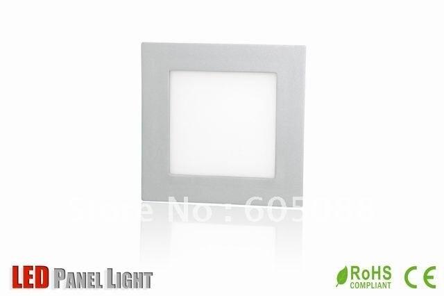 8 square ultraslim led kitchen panel light,color white,led wardrobe panel lamp,AC100-240v input,CE&ROHS, 20pcs/lot promotion