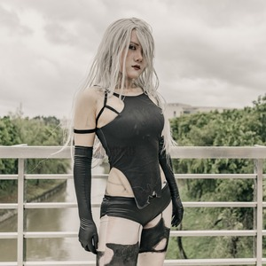 Image 5 - Athemis NieR Automata Cosplay Costumi YoRHa No. 2 Tipo di UN costume cosplay