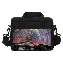 VEEVANV Starry Sky Printing Lunch Bag Women 7L Portable Insulated Cooler Bag Thermal Lunch Box Storage Container Food Picnic Bag