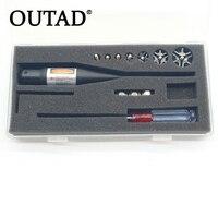 OUTAD Chất Lượng Hàng Đầu Red Laser Boresighter Bore Sighter Kit cho Săn Bắn. 17-78 Caliber Khuyến Mãi