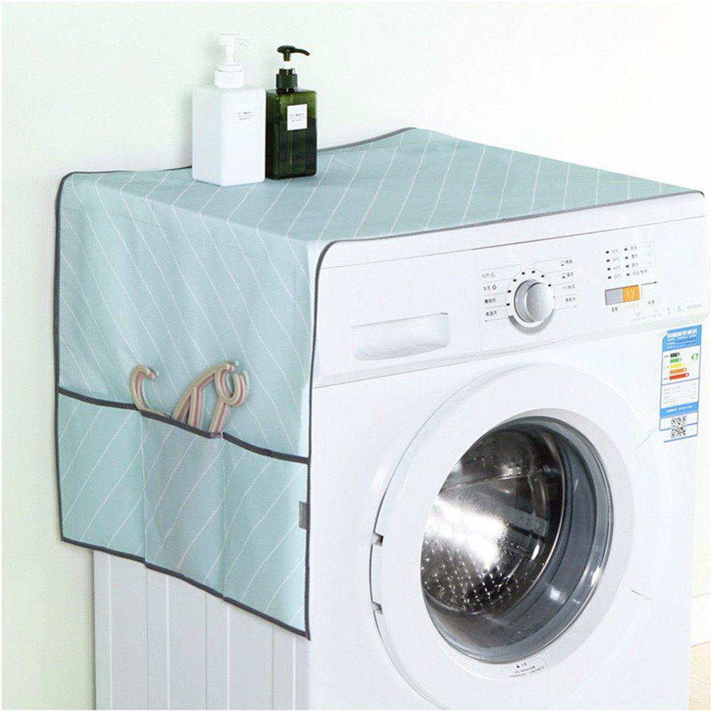 Household Washing Machine Covers Home Refrigerator Waterproof Cleaning Organizer Wholesale Accessories Gear Supplies ...