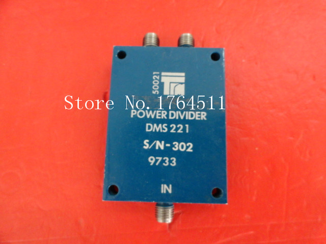 [BELLA] TRM DMS221 2-18GHz RF Coaxial Power Divider SMA A Two