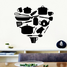 Delicate Kitchen Home Decor Vinyl Wall Stickers For Kids Room Decoration Murals vinilo decorativo