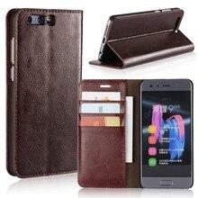 Для Huawei Honor 9 Чехол Флип Бумажник Роскошные кожаные телефон Чехлы для Huawei Honor 9 Coque Fundas Капа carcasas hoesje ETUI