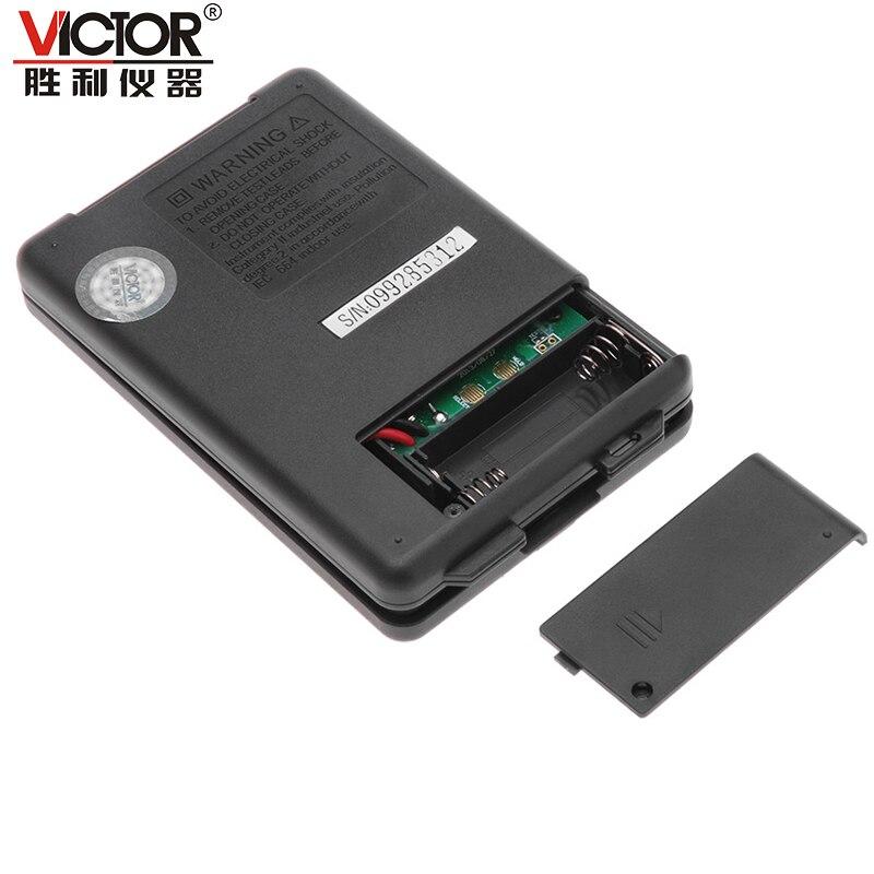 1PCS Mini VICTOR VC921 3 3//4 DMM Multimeter Pocket Digital Multimeter Frequency