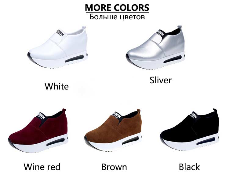 Vulcanize shoes women casual shoes 2019 new fashion solid pu women sneakers slip-on breathable shoes woman zapatos de mujer (5)