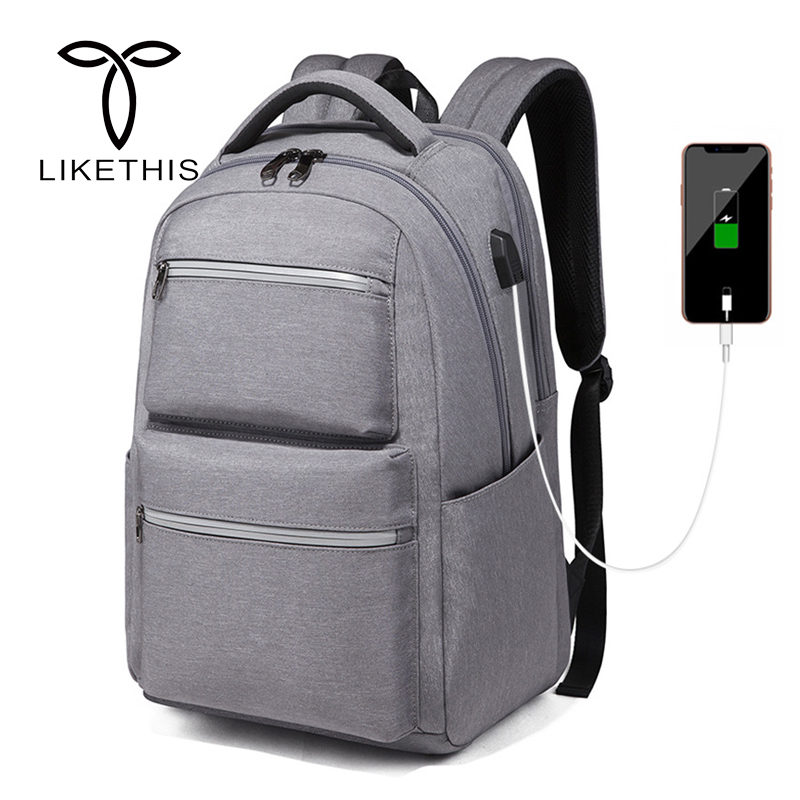 цена на Multifunction Laptop Backpack USB Charging Anti Theft Backpack Men Travel Backpack Waterproof School Bag Male Mochila