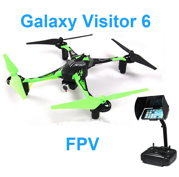 Nine Eagles Galaxy Visitor 6 MASF15 FPV Quadcopter with 720P Wifi Camera RTF 2.4GHz