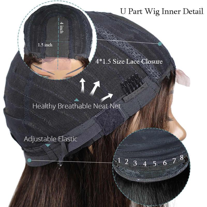 Ienvy Боб Короткие парики человеческих волос для черный Для женщин Прямо Jet Black Бразильский Синтетические волосы на кружеве у части парики 150% плотности #1 Nonremy волос
