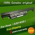 JIGU Бесплатная доставка в Исходном Батареи ноутбука Для Asus U57 X55 X55A X55C X55U X55V X55VD X75 X75A X75V X75VD 10.8 В 4700 мАч