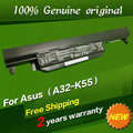 JIGU Free shipping Original laptop Battery For Asus U57 X55 X55A X55C X55U X55V X55VD X75 X75A X75V X75VD 10.8V 4700mAH