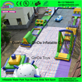 Lake Inflatable Water Games For Adults / Qinda Water Inflatable Park Manufacturer