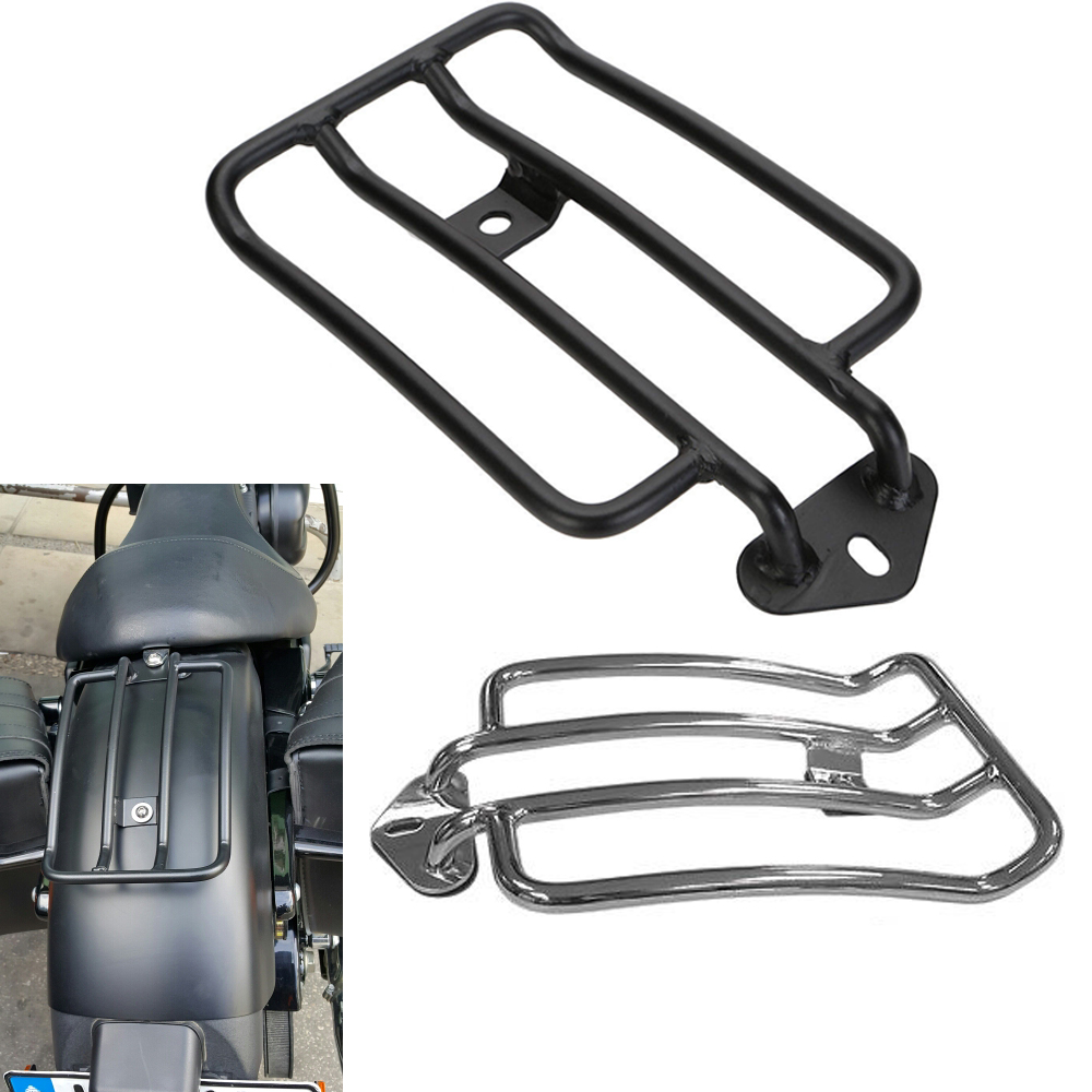 Luggage Rack Support Shelf Fit For Stock Solo Seat Harley Sportster 883 1200 2004 - 2012 XL1200X Iron 883 Luggage Carrier