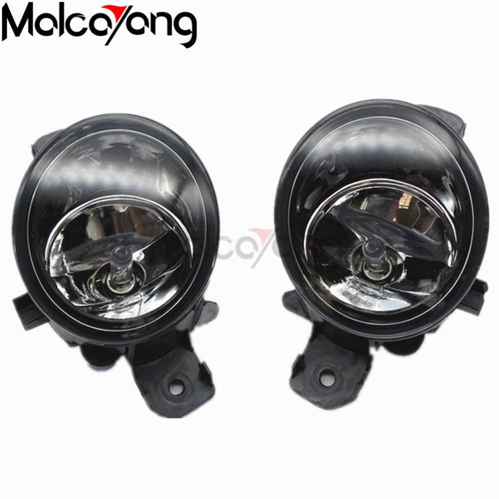 2 Pcs/Set For NISSAN X-TRAIL (T30) 2001-2006 Car Styling Front Bumper Halogen Fog Lights High Brightness FOG LAMPS set j40 black steel different trail front bumper w winch plate