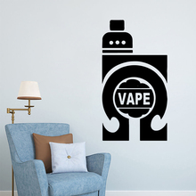 Free shipping  VAPE Wall Stickers Personalized Creative vinyl Art Decoration DIY Home Decor