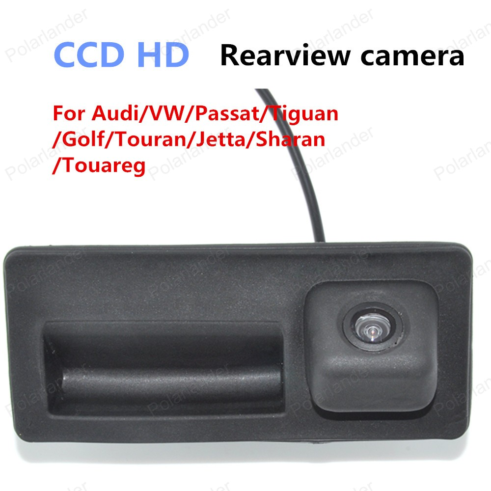 hot Waterproof CCD For Audi VW Passat Tiguan Golf Touran Jetta Sharan Touareg Car Rearview camera