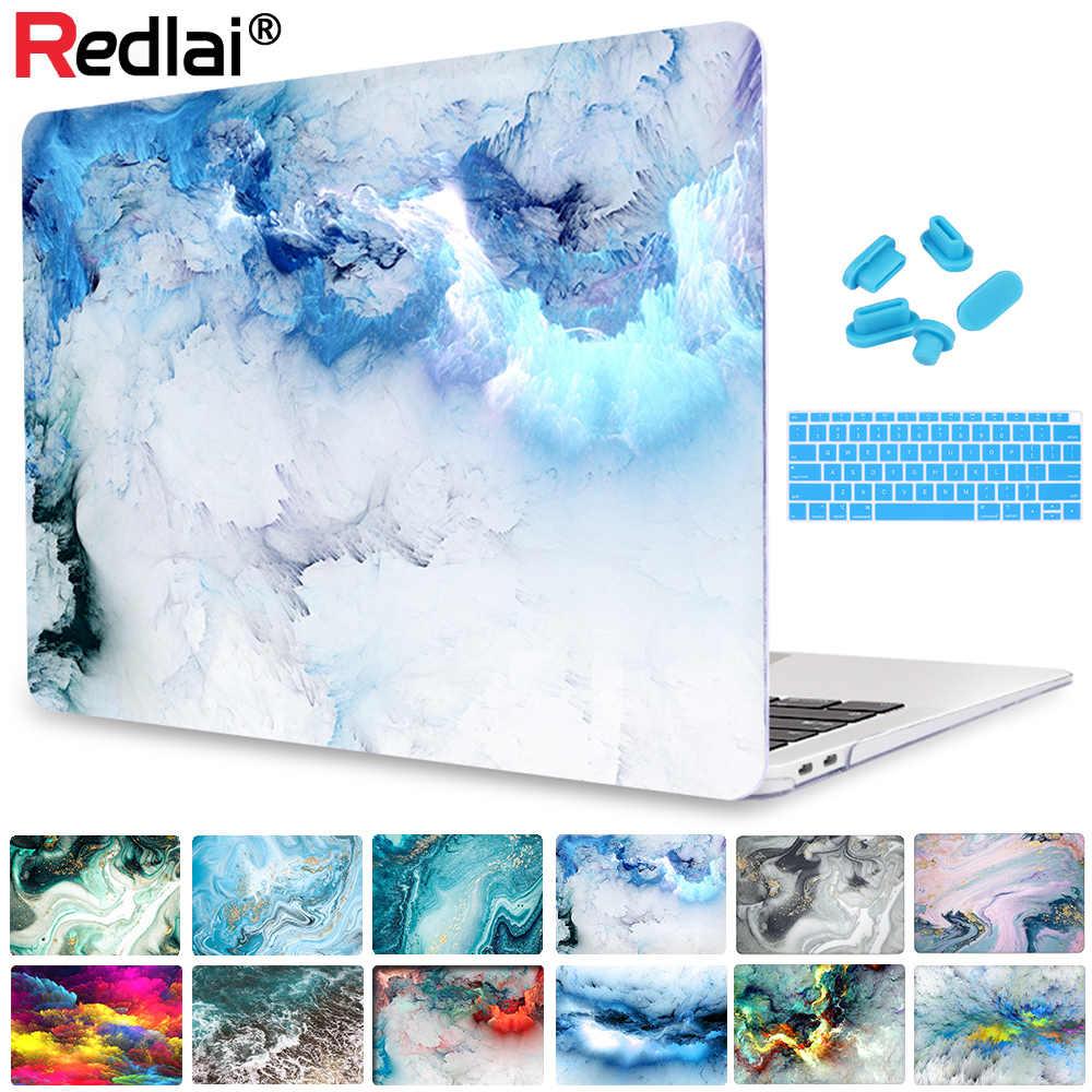 Redlai Voor Macbook Pro 13 16 Inch Case Touch Bar 2019 A2159 A2141 Clear Soft Touch Laptop Cover Voor Mac air 13 A1932 A1466 A2179