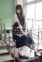 Jk uniforme escolar de verano japonés harajuku lindo marinero cosplay lolita dulce mujeres niñas camisa + dress + tie