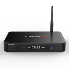 [Genuine] T95max Metal Case 2GB+32GB Amlogic S905 Andorid 5.1 TV BOX BT4.0 KODI LED Display smart tv media player box T95 max