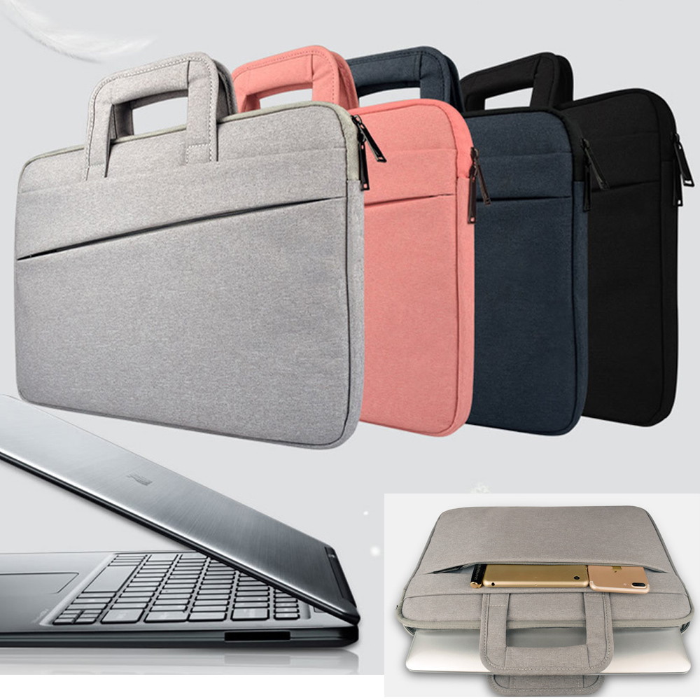 Laptop Case for Macbook Xiaomi Dell Asus Lenovo HP Acer 11 12 13 14 15.4 15.6 inch Notebook Bag Sleeve 13.3 Surface pro 3 4 5 nylon laptop bag case sleeve for xiaomi 13 3 macbook air pro notebook handbag for dell hp asus acer lenovo 11 12 13 15 6