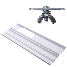 Portable PVC Material Window Adaptor Slide Kit Stretched and Adjusted Plate 550-1100MM for Air Conditioner